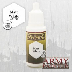 PEINTURE MATT WHITE - ARMY PAINTER