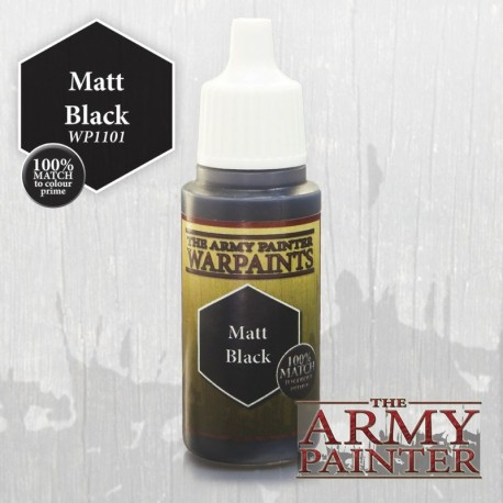 PEINTURE MATT BLACK - ARMY PAINTER