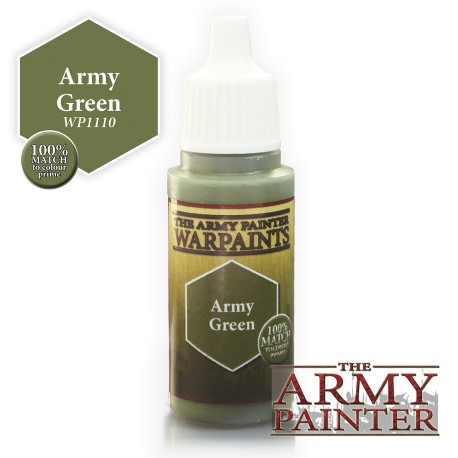 PEINTURE ARMY GREEN - ARMY PAINTER