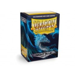 DRAGON SHIELD MATTE night blue - 100 Sleeves