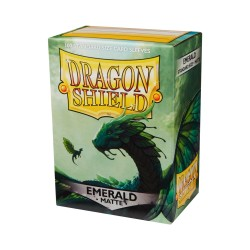 DRAGON SHIELD MATTE Emerald - 100 Sleeves