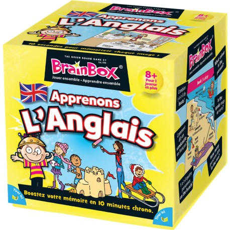 BRAIN BOX APPRENONS L'ANGLAIS