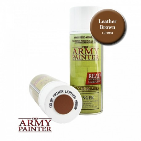 BOMBE COLOUR PRIMER LEATHER BROWN - ARMY PAINTER