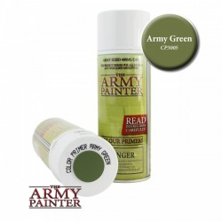 BOMBE COLOUR PRIMER ARMY GREEN - ARMY PAINTER