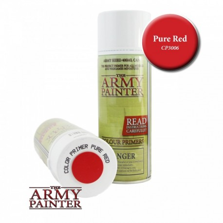 BOMBE COLOUR PRIMER PURE RED - ARMY PAINTER