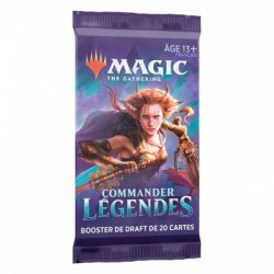MTG : COMMANDER LEGENDES : BOOSTER FR