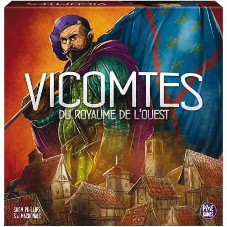 VICOMTES DU ROYAUME DE L'OUEST