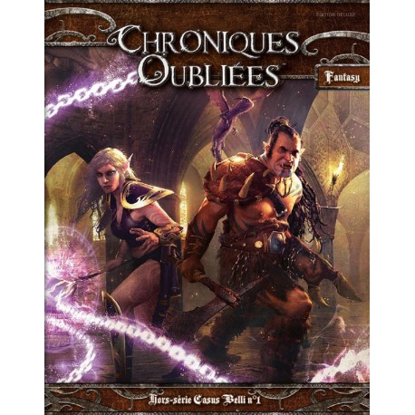 CHRONIQUES OUBLIEES FANTASY : ED DELUXE