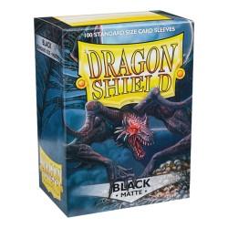 Dragon Shield MATTE - Black - 100 Sleeves