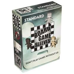 50 Board Game Sleeves : Antireflet Std 63x88mm