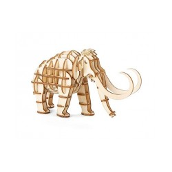 3D WOODEN PUZZLE MAMMOUTH