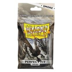 100 Dragon Shield Perfect Fit : Smoke