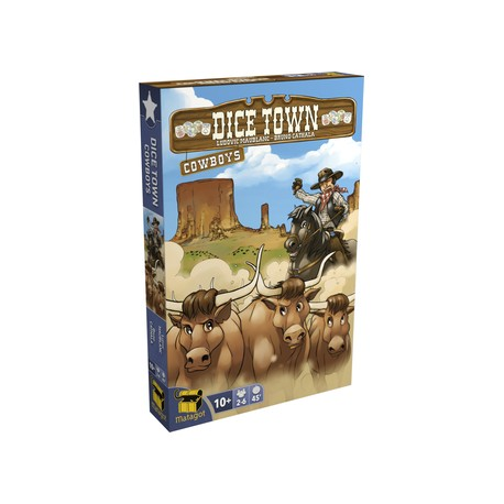 DICE TOWN EXTENSION COWBOY